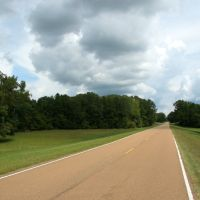 Natchez Trace Parkway, northeast of Natchez, Mississippi, Клейтон