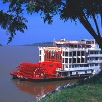 "The ""Mississippi Queen"" near Natchez under the Hill, Клейтон"