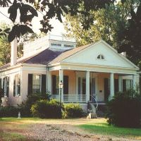 "1853 ""Landsowne"" George Marshall mansion, Natchez Ms, scanned 35mm (8-9-2000), Клейтон"