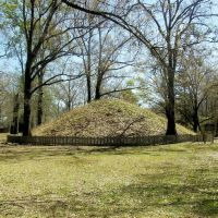 Conical Burial Mound, Marksville Mounds, Marksville, Avoyelles Parish, Louisiana, Клейтон