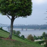 View on Mississippibridge Vicksburg, Клейтон