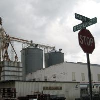 MFA grain bins, Louisiana, MO - 09/06/2007, Коттон-Вэлли