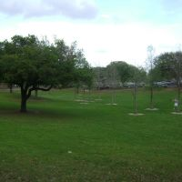 Girard Park from Fletcher Hall, Лафайетт