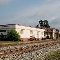 Former Kansas City Southern Railway Station at Leesville, LA, Лисвилл