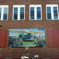 Mural of Charles Lindbergh., Метаири