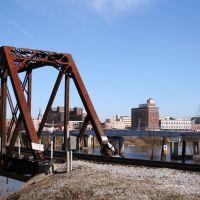 Railroad Bridge ~ West Monroe Side, Монро