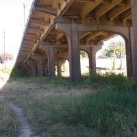 Louisiville Ave Bridge looking towards Monroe, Монро