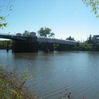 Louisiville Bridge looking towards West Monroe, Монро