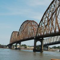 Long/Allen Bridge - Morgan City, LA, Морган-Сити
