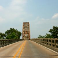 Long-Allen Bridge in Morgan City, Louisiana  (June 2006), Морган-Сити