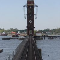 Atchafalaya River Rail Drawbrige, Морган-Сити