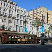 Canal streetcar, Новый Орлеан