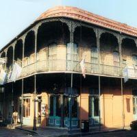 French Quarter architecture, New Orleans (8-2000), Новый Орлеан
