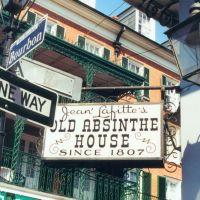 Signs, French Quarter, New Orleans (8-2000), Новый Орлеан