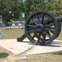 Springfield Cemetery Cannon - Springfield, LA, Олбани