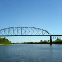 O.K. Allen Bridge, Пайнвилл