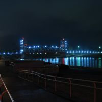 Main Street Bridge at Night, Пайнвилл