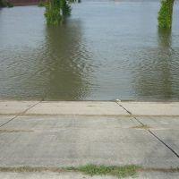 Swelling Mississippi River, Порт-Аллен