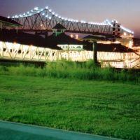 New Mississippi River Bridge, Порт-Аллен