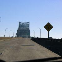 I-10 bridge over Mississippi, Порт-Аллен