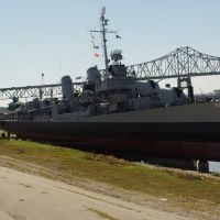 USS KIDD, Naval Museum, Baton Rouge, LA, Порт-Аллен