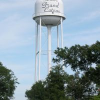 Water Tower, Grand Coteau, Louisiana, Сансет