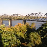 Champ Clark Bridge, Louisiana MO, Скотландвилл