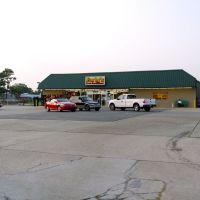 Dustys view of Earlys Cajun Supermarket, Скотт