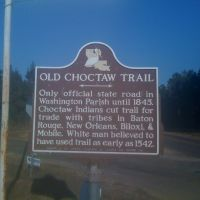 Old Choctaw Trail Marker, Франклинтон
