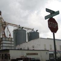 MFA grain bins, Louisiana, MO - 09/06/2007, Хэйнесвилл