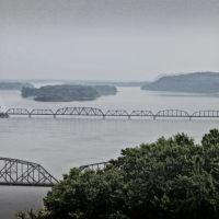 Louisiana Railroad Bridge, Хэйнесвилл