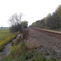 tracks along route 90, Чёрч-Пойнт