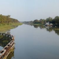 Near Franklin, Louisiana - View from Centerville Bridge over Bayou Teche, Чёрч-Пойнт