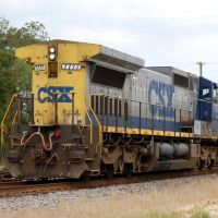 CSX Transportation Locomotive No. 7777 at Kinder, LA, Чёрч-Пойнт