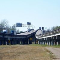 The highway joins, Чёрч-Пойнт