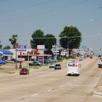 State Line Rd in Texarkana, TX/AR, Шонгалу