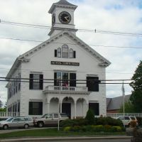 The Acton Massachusetts city hall, Актон