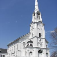 South Church in Andover, MA, Андовер