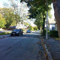 view down the street, Беверли