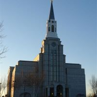 Church of Latter Day Saints - Belmont, MA [Front View], Белмонт