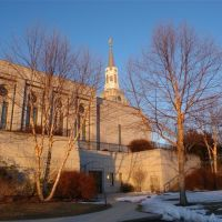 Church of Latter Day Saints - Belmont, MA - [Side View], Белмонт
