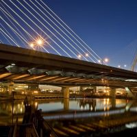 Zakim Bridge, Бостон