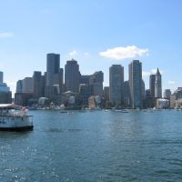 Boston Harbor & Skyline, Бостон