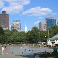 Boston Common - Frog Pond, Boston, Бостон