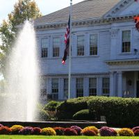Old Bridgewater Academy Fountain (Bridgewater MA), Бриджуотер