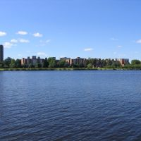 Looking Over the Charles Towards Cambridge, Бруклин
