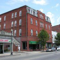 Main Street Commercial Building, Late 19th Century, Вест-Спрингфилд