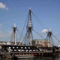 USS Constitution, Вестон