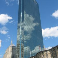 Glass bldg at 200 Clarendon St., Boston., Вестон