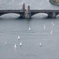 Sail boats on the Charles, Вестон